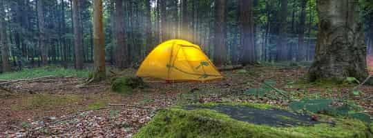 Slik velger du en god teltplass